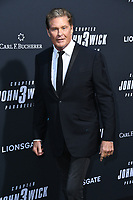 "15 May 2019 - Hollywood, California - David Hasseloff. ""John Wick: Chapter 3 - Parabellum"" Special Screening Los Angeles held at the TCL Chinese Theatre.     <br /> CAP/ADM/BT<br /> ©BT/ADM/Capital Pictures"