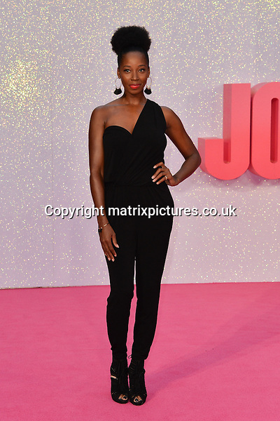 NON EXCLUSIVE PICTURE: MATRIXPICTURES.CO.UK<br /> PLEASE CREDIT ALL USES<br /> <br /> WORLD RIGHTS<br /> <br /> British TV presenter Jamelia attends the world premiere of &quot;Bridget Jones's Baby&quot; at Leicester Square in London.<br /> <br /> SEPTEMBER 5th 2016<br /> <br /> REF: JWN 162864