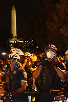 WASHINGTON D.C. - JUNE 22: Protesters gather at Lafayette Square outside the White House trying then to tear down the Andrew Jackson statue that was commissioned in 1847 in Washington D.C. on June 22, 2020. <br /> CAP/MPI34<br /> ©MPI34/Capital Pictures
