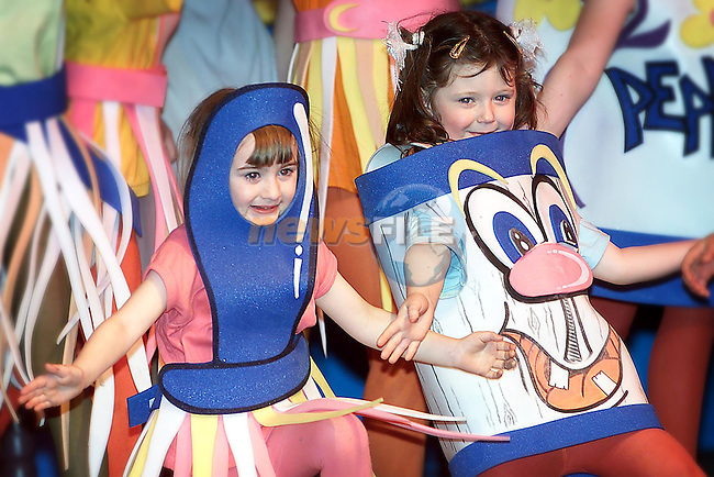 Performers in Drogheda Pantomime Society's production of Beauty and the Beast..Picture: Paul Mohan/Newsfile