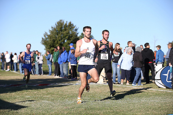 Denton, TX - November 2: Conference USA Cross Country Championship at Eagle Point in Denton on November 2, 2013 in Denton, Texas. (Photo by Rick Yeatts)