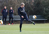 Martin Hinteregger (Eintracht Frankfurt) - 20.02.2019: Eintracht Frankfurt Training, UEFA Europa League, Commerzbank Arena, DISCLAIMER: DFL regulations prohibit any use of photographs as image sequences and/or quasi-video.