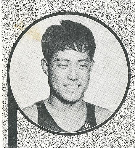 Takashi Yokoyama (JPN), 1932 - Swimming : A portrait of Takashi Yokoyama of Japan. (Photo by Kingendai Photo Library/AFLO)[2373]