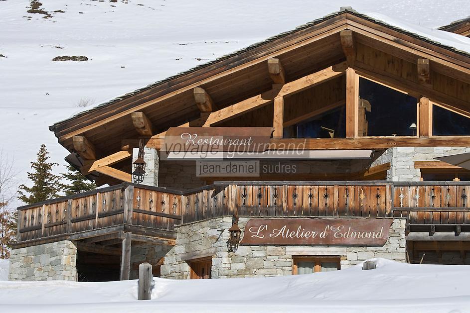 Europe/France/73/Savoie/Val d'Isère: Hameau du Fornet - Chalet du restaurant: L' Atelier d'Edmond