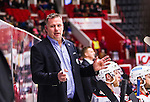 S&ouml;dert&auml;lje 2014-10-23 Ishockey Hockeyallsvenskan S&ouml;dert&auml;lje SK - Malm&ouml; Redhawks :  <br /> Malm&ouml; Redhawks tr&auml;nare headcoach Mats Lusth gestikulerar under matchen mellan S&ouml;dert&auml;lje SK och Malm&ouml; Redhawks <br /> (Foto: Kenta J&ouml;nsson) Nyckelord: Axa Sports Center Hockey Ishockey S&ouml;dert&auml;lje SK SSK Malm&ouml; Redhawks portr&auml;tt portrait glad gl&auml;dje lycka leende ler le