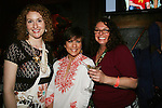 Colleen Zenk Pinter with fan presidents Jill & Kendra at Trent Dawson's 6th Annual Martinis With Henry on April 17, 2010 at Latitude, New York City, New York. (Photo by Sue Coflin/Max Photos)