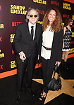 HOLLYWOOD, CA - APRIL 06:  Actor Richard Lewis (L) and Joyce Lapinsky attend the premiere of Netflix's 'Sandy Wexler' at the ArcLight Cinemas Cinerama Dome on April 6, 2017 in Hollywood, California.