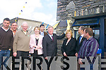 I Declare This building Open!: At the official opening of the Sive Rowing Clubs Clubhouse, Cahersiveen, by Minister John ODonoghue on Sunday were, l-r: Paul Griffin (Irish Olympic Rower), Paul ODonoghue (local Solicitor), Paddy Lawlor ONeill, Catherine OSullivan (Master of Ceremonies), Cian Murphy (Treasurer of Sive Rowing Club), Minster John ODonoghue, Josephine McGill (PRO Sive Rowing Club), Padraig OShea (Chairman Sive Rowing Club) and Victor  Bridges (Chairman Irish Coastal Rowing Association). .