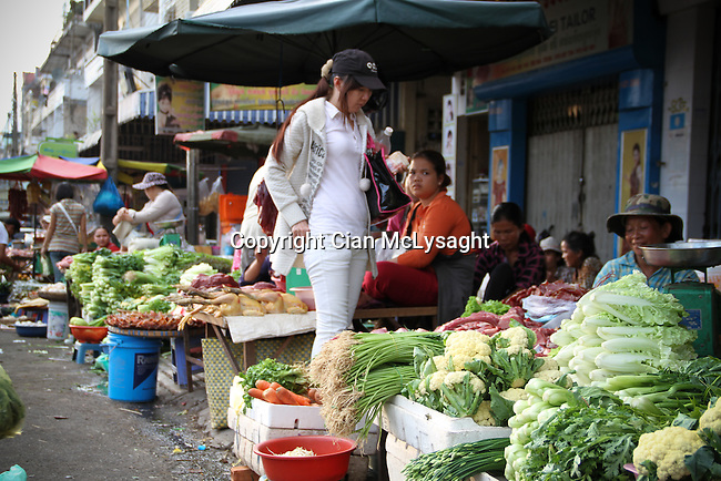 Cambodia, Phnomh Penh, City, Life