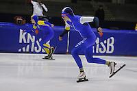 SCHAATSEN: HEERENVEEN: IJsstadion Thialf, 30-01-15, Viking Race, Internationaal Jeugdtoernooi 11-16 jaar, Aafke Soet (G-FR), ©foto Martin de Jong
