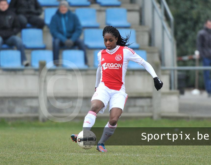 AJAX Amsterdam Dames : Liza van der Most .foto JOKE VUYLSTEKE / Vrouwenteam.be