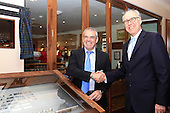 Paul McGinley visits Gleneagles as Ryder Cup Captain