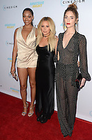 HOLLYWOOD, CA - JULY 25: Bria Murphy, Ashley Tisdale and Janet Montgomery at the Premiere Of Cinedigm's 'Amateur Night' at ArcLight Hollywood on July 25, 2016 in Hollywood, California. Credit: David Edwards/MediaPunch