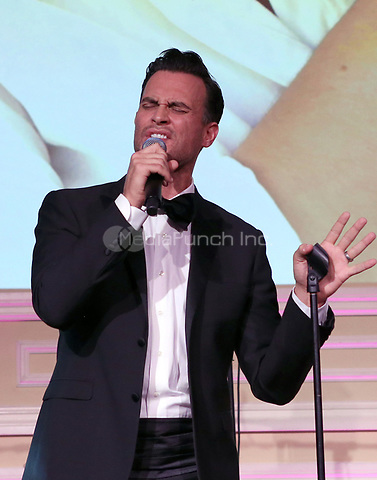 LOS ANGELES, CA - NOVEMBER 9: Cheyenne Jackson, at the 2nd Annual Vanderpump Dog Foundation Gala at the Taglyan Cultural Complex in Los Angeles, California on November 9, 2017. Credit: November 9, 2017. Credit: Faye Sadou/MediaPunch