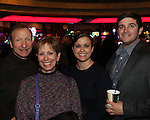 Mark and Julie Rosenbery, Danielle Stage and Eric Kertzman during the Sheep Dip 53 Show at the Eldorado Hotel & Casino on Friday night, Jan. 13, 2017.