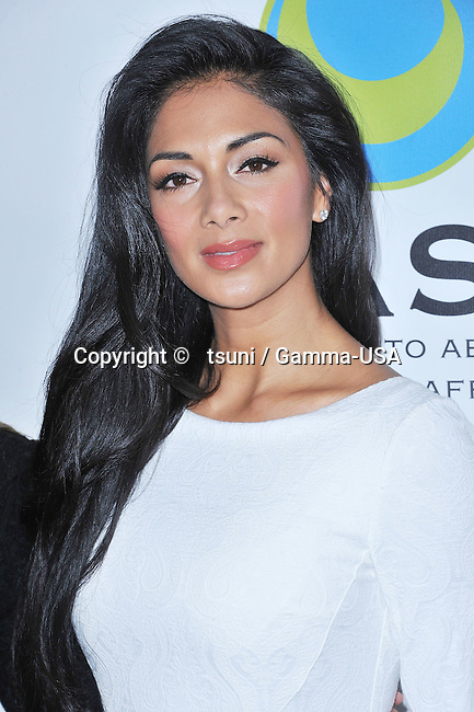 Nicole Scherzinger  arriving the 15th Annual From Slavery to Freedom Event at the Sofitel Hotel In Los Angeles.