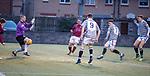 01.05.18 Stenhousemuir v Queens Park: Robbie Leitch (7) scores for Queen's Park