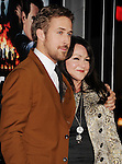 HOLLYWOOD, CA - JANUARY 07: Ryan Gosling and Donna Gosling arrive at the 'Gangster Squad' - Los Angeles Premiere at Grauman's Chinese Theatre on January 7, 2013 in Hollywood, California.