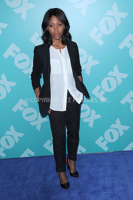 WWW.ACEPIXS.COM . . . . . .May 13, 2013...New York City....Nicole Beharie attending the FOX 2103 Programming Presentation Post-Party at Wollman Rink in Central Park on May 13, 2013 in New York City ....Please byline: KRISTIN CALLAHAN - ACEPIXS.COM.. . . . . . ..Ace Pictures, Inc: ..tel: (212) 243 8787 or (646) 769 0430..e-mail: info@acepixs.com..web: http://www.acepixs.com .