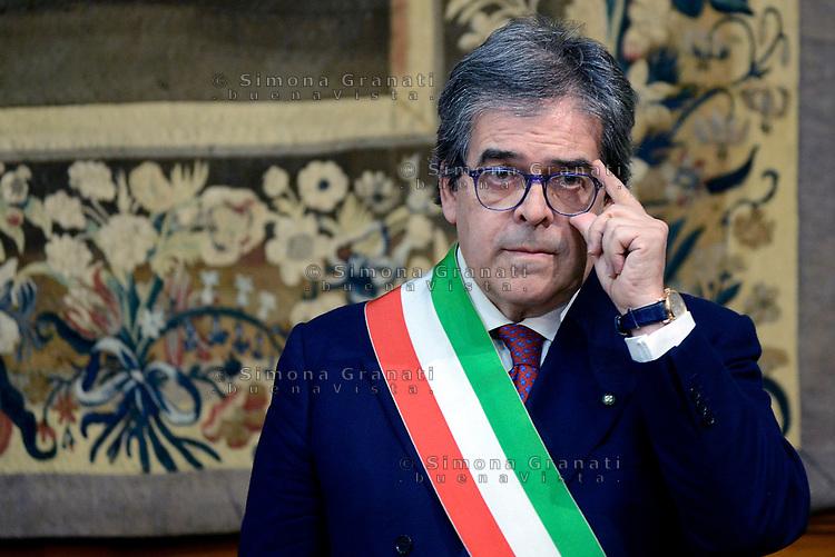 Roma, 18 Dicembre 2017<br /> Enzo Bianco sindaco di Catania.<br /> Riqualificazione periferie, firma Governo Sindaci