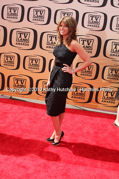 Ari Meyers.arrives at the 2010 TV Land Awards.Sony Studios.Culver City, CA.April 17, 2010.©2010 Kathy Hutchins / Hutchins Photo...