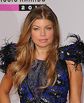 Fergie of The Black Eyed Peas at The 2010 American Music  Awards held at Nokia Theatre L.A. Live in Los Angeles, California on November 21,2010                                                                   Copyright 2010  DVS / Hollywood Press Agency