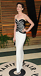 "Anne Hathaway arriving to the ""Vanity Fair Oscar Party 2014"" held in West Hollywood, Ca. on March 2, 2014."