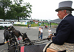 Four in hand coaching event at Monmouth Park Racetrack in Oceanport, New Jersey.