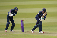 Keaton Jennings of Lancashire CCC flicks off his legs to the boundary to raise his half century during Middlesex vs Lancashire, Royal London One-Day Cup Cricket at Lord's Cricket Ground on 10th May 2019