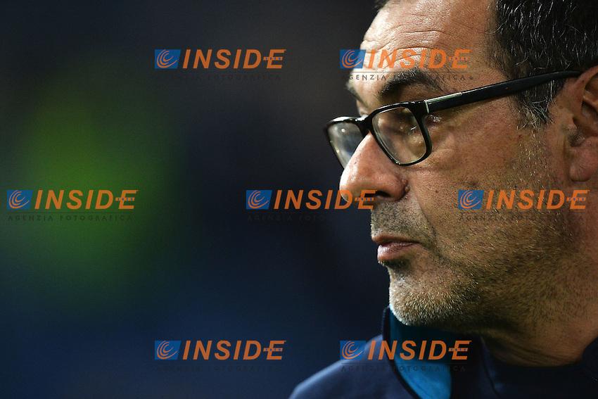 Maurizio Sarri Napoli <br /> Roma 03-02-2016 Stadio Olimpico, Football Calcio Serie A 2015/2016 Lazio - Napoli. Foto Andrea Staccioli / Insidefoto
