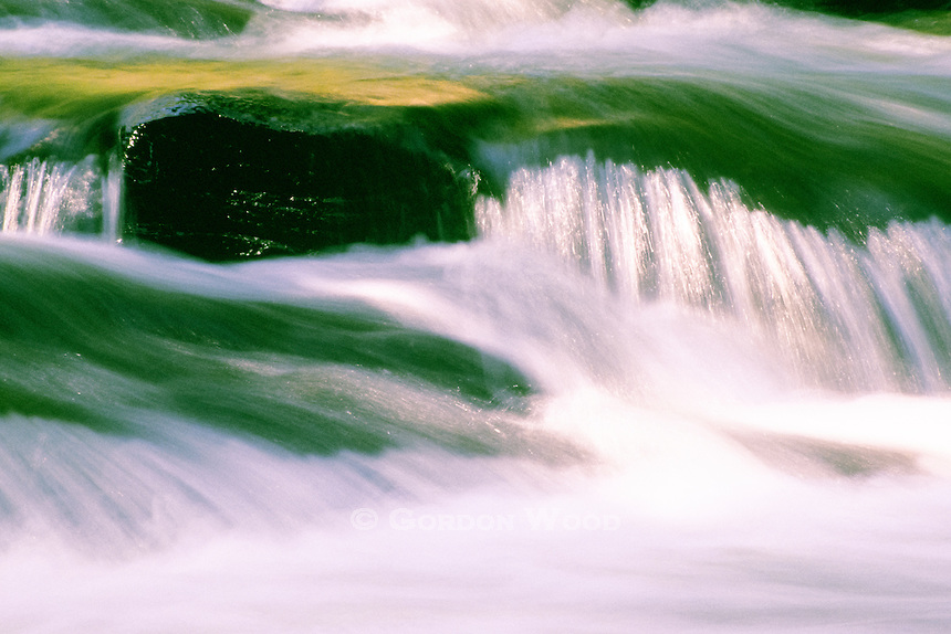 River Flow Over Rocks - Kennisis River, Ontario, Canada