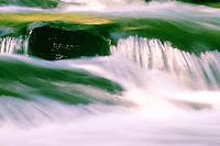 River Flow Over Rocks - Kennisis River, Ontario, Canada
