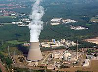 Kernkraftwerk Emsland: EUROPA, DEUTSCHLAND, NIEDERSACHSEN (GERMANY), 23.08.2019: Kernkraftwerk Emsland