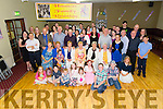 Pictured on Saturday at the Hannon Family Reunion, held in Fr. Casey's GAA clubhouse, Abbeyfeale.