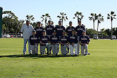 December 29, 2009:  Baseball Factory Tigers team during the Pirate City Baseball Camp & Tournament at Pirate City in Bradenton, Florida.  (Copyright Mike Janes Photography)