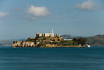 San Francisco, California: Alcatraz Island in San Francisco Bay. Photo 15-casanf78201. Photo copyright Lee Foster.