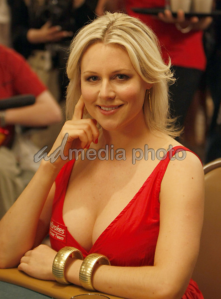 "2 July 2008 - Las Vegas, Nevada - Abi Titmuss. Annie Duke and Don Cheadle host the 2nd Annual ""Ante Up For Africa"" Celebrity Poker Tournament during the 2008 World Series of Poker held at the Rio All-Suite Hotel and Casino. Photo Credit: MJT/AdMedia"