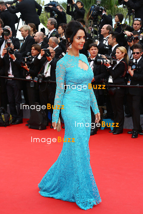 CPE/ Mallika Sherawat attends the Opening ceremony and the 'Grace of Monaco' Premiere during the 67th Annual Cannes Film Festival on May 14, 2014 in Cannes, France