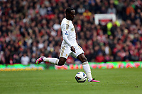 Pictured: Nathan Dyer.<br /> Sunday 12 May 2013<br /> Re: Barclay's Premier League, Manchester City FC v Swansea City FC at the Old Trafford Stadium, Manchester.
