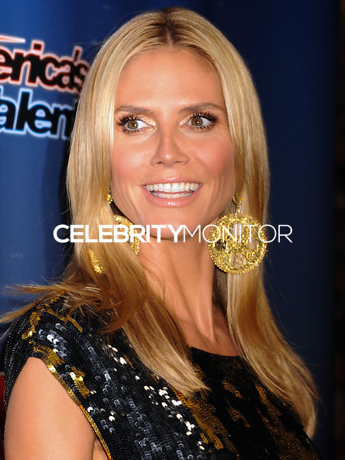 NEW YORK CITY, NY, USA - AUGUST 20: Heidi Klum arrives at the 'America's Got Talent' Post Show Red Carpet held at Radio City Music Hall on August 20, 2014 in New York City, New York, United States. (Photo by Celebrity Monitor)