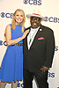Faith Ford from Murphy Brown and Cedric The Entertainer attend the CBS Upfront 2018-2019 at The Plaza Hotel in New York, New York, USA on May 16, 2018.<br /> <br /> photo by Robin Platzer/Twin Images<br />  <br /> phone number 212-935-0770
