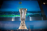 Il Trofeo dell'Europa League a Palazzo Madama di Torino  Europa League Trophy Handover   Torino 16/04/2014   Football Calcio   Foto Giorgio Perottino / Insidefoto