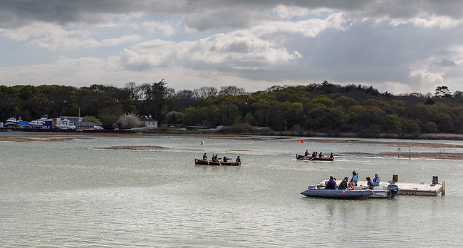 the 2014 Yarmouth Duck Race on the Isle of Wight