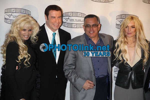 New York City<br /> CelebrityArchaeology.com<br /> 2011 FILE PHOTO<br /> VICTORIA GOTTI, JOHN TRAVOLTA, <br /> JOHN GOTTI JR. LINDSAY LOHAN <br /> Photo by John Barrett-PHOTOlink.net<br /> -----<br /> CelebrityArchaeology.com, a division of PHOTOlink,<br /> preserving the art and cultural heritage of celebrity <br /> photography from decades past for the historical<br /> benefit of future generations.<br /> ——<br /> Follow us:<br /> www.linkedin.com/in/adamscull<br /> Instagram: CelebrityArchaeology<br /> Twitter: celebarcheology