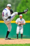 15 July 2010: Aberdeen IronBirds' pitcher Will Strartup in action against the Vermont Lake Monsters at Centennial Field in Burlington, Vermont. The Lake Monsters rallied in the bottom of the 9th inning to defeat the IronBirds 7-6 notching their league leading 20th win of the 2010 NY Penn League season. Mandatory Credit: Ed Wolfstein Photo