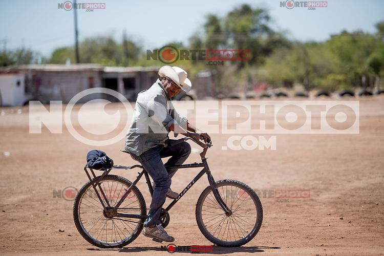 Etchohuaquila, Navojoa, Sonora, México. Pueblo donde nació Fernando Valenzuela, o el Toro Valenzuela, pítcher estelar  mexicano de los dodgers de LA de  las ligas mayores del beisbol. Fernandomania  en los años 80s.<br /> <br /> 28May2018. (Photo:Luis Gutierrez/ NortePhoto.com)<br /> <br /> pclaves:
