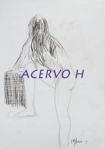 Desenhos.<br /> Estudos &copy;Milton Rocha