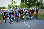 The peloton in action before the cobbles during Stage 9 of the 2018 Tour de France running 156.5km from Arras Citadelle to Roubaix, France. 15th July 2018. <br /> Picture: ASO/Pauline Ballet | Cyclefile<br /> All photos usage must carry mandatory copyright credit (&copy; Cyclefile | ASO/Pauline Ballet)