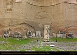 Baths of Caracalla East Palaestra (Greek Wrestling Room) Mosaics Aventine Hill Rome