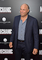 LOS ANGELES, CA. August 22, 2016: Actor Randy Couture at the Los Angeles premiere of &quot;Mechanic: Resurrection&quot; at the Arclight Theatre, Hollywood.<br /> Picture: Paul Smith / Featureflash